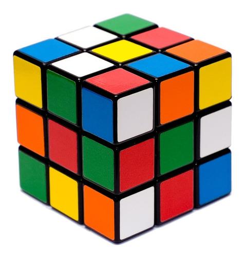 Cubo Mágico 3x3x3 Profissional Clássico Original