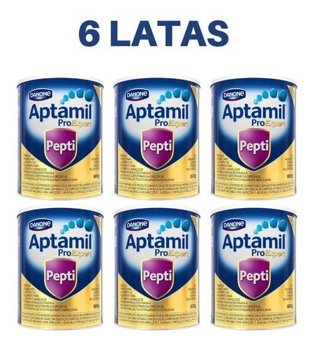 Kit Aptamil Pro Expert Pepti - 800g 6 Unid.