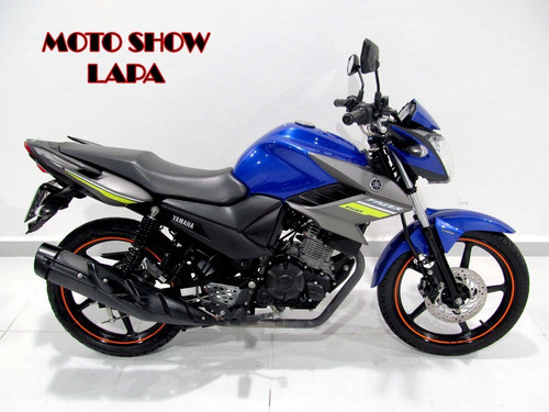 Yamaha Ys Fazer 150 Sed 2020 Azul