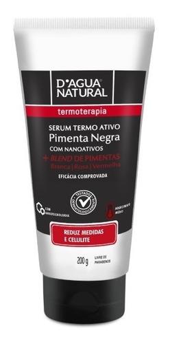 Serum Termoativo Redutor Blend Pimentas 200g Dagua Natural