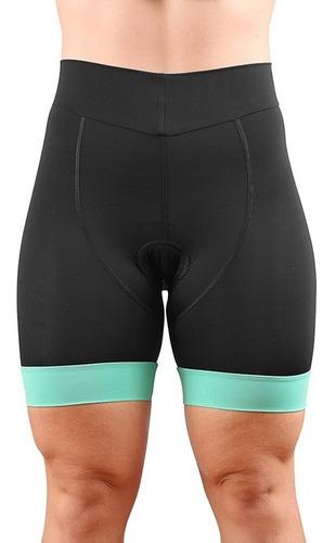 Bermuda Short De Ciclismo Cycle7 Feminina Forro Mpro Gel