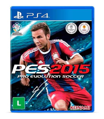 Pro Evolution Soccer 2015 Standard Edition Konami Digital Entertainment Ps4  Físico
