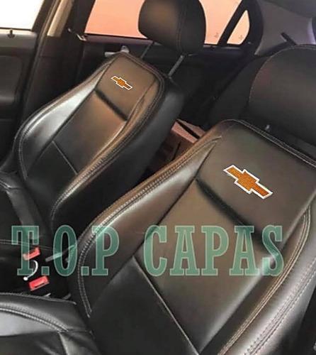 Capa Banco Carro Em Couro Chevrolet Corsa Astra Agile Celta