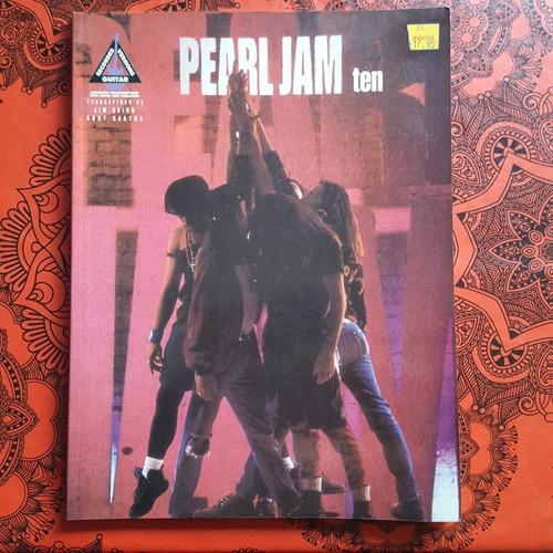 Libro De Partituras- Ten-pearl Jam . Ed.hall Leonard.import.