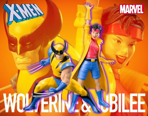 Wolverine E Jubilee X-men 92: Two Pack Artfx Kotobukiya