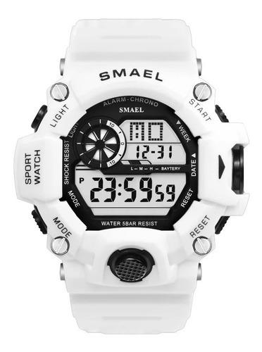 Relógio Masculino Smael Militar 1385 Digital Original