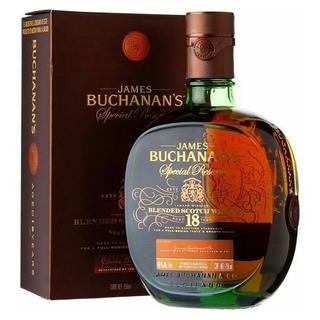 Whisky Buchanans 18 Años Con Estuche Escoces