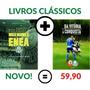 2 Livros Palmeiras Enea Tricampeão Presente Palmeirense