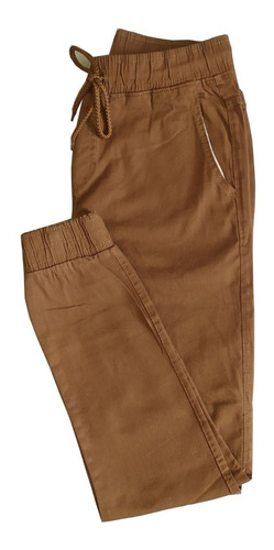 Calças Jeans Camuflada Sarja Masculina Jogger C/ Punho Lycra