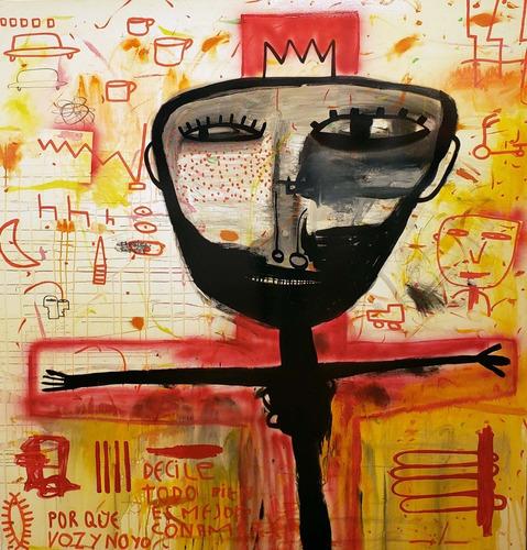 Milo Lockett 180x200 Cms Bastidor - Galerias Witcomb