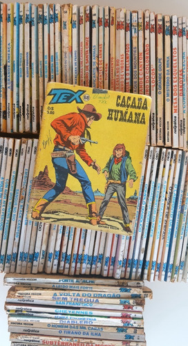 Gibi Tex Revista Quadrinho De Faroeste Nº Raros Avulso