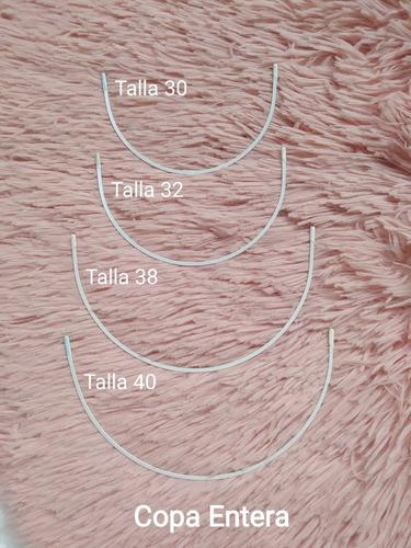Varillas O Ballenas Tipo Sosten Para Trajes De Baño. X Talla