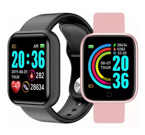 Relógio Smartwatch Android Ios Inteligente D20 Bluetooth Nfe