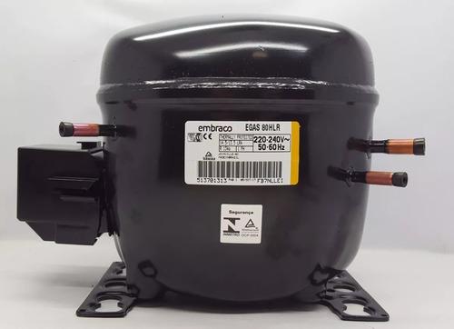 Motor Compressor Embraco 1/4  R134 220 Novo Com Nf