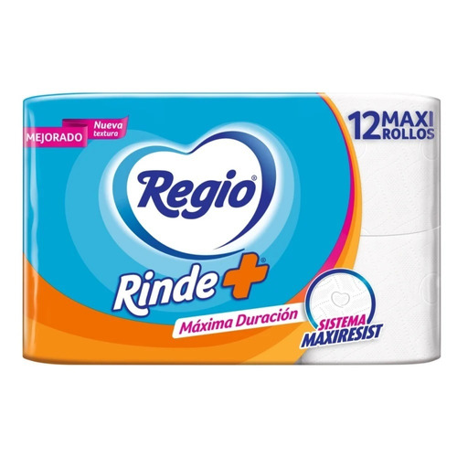 Papel Higiénico Regio Rinde Más De12u