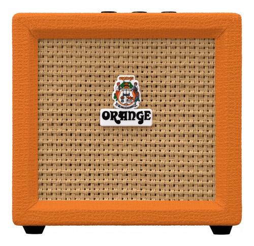Amplificador Orange Crush Mini Combo Valvular 3w Naranja 250v