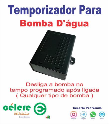 Rele Temporizador Para Bomba Dagua Sisterna Poço Artesiano