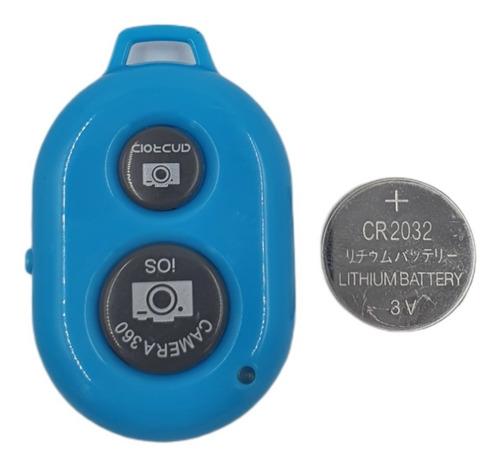 Kit 400 Controle Remote Bluetooth Shutter Para Foto Selfie