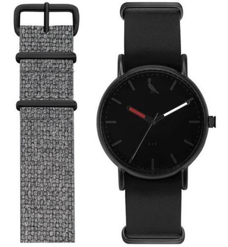 Relógio Reserva Masculino Re2035af/t2p Black Troca Pulseira