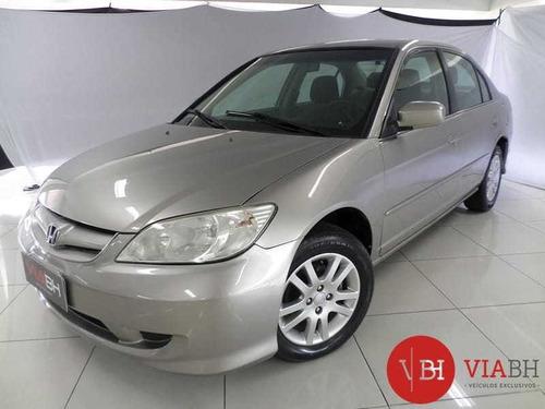 Honda Civic Sedan Lx-mt 1.7 16v