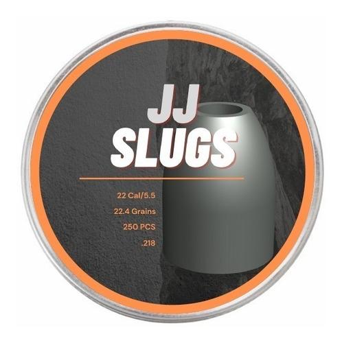 Chumbinho Jj Slug 5.5 Carabina / Pcp 22.4 Grains / 250 Unid.