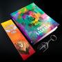 Biblia Leão Color Masculina Acf Cristão Novidade Kit Atual