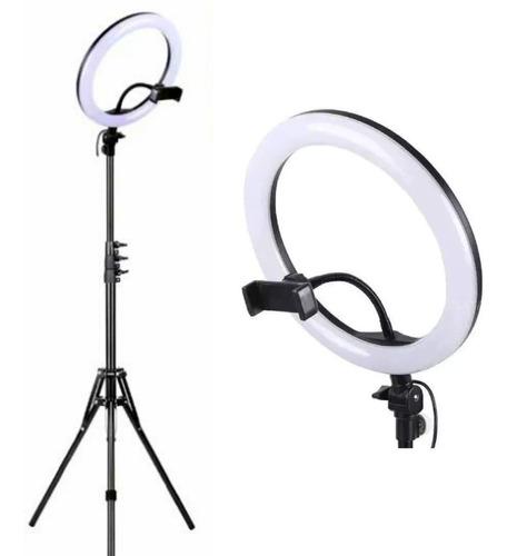 Ring Light Iluminador Led 26cm Tripé 2m Youtuber Maquiagem
