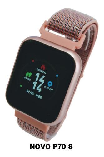 Relógio Feminino Smart Watch P70 Pro - À Prova D'água - C Nf