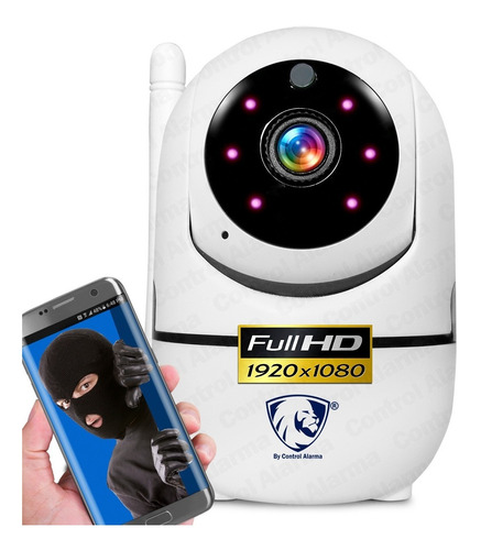 Camara Wifi Ip Full Hd Seguridad Rastreo Movimiento Vision Nocturna Alarma Audio Espia Celular Grabacion Nube Amazon