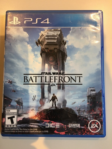 Star Wars Battlefront Ps4 Fisico