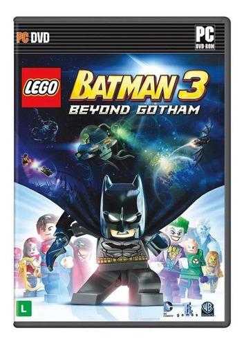 Lego Batman 3: Beyond Gotham Warner Bros. Pc  Físico