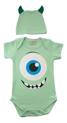 Body De Bebê Monstros Sa. Milkfun