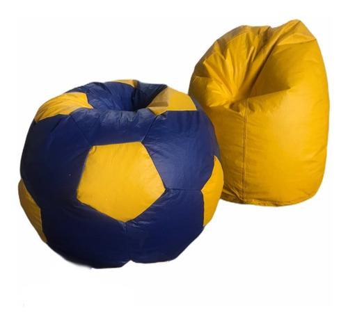 Kit Puff Pera + Bola Futebol Infantil  * Sem Enchimento*