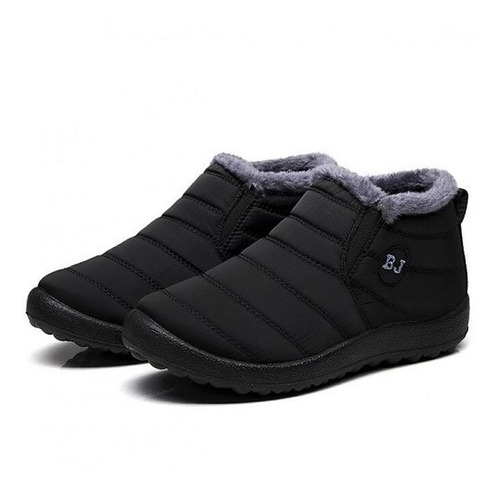 M 121 - Sapato, Bota Inverno Forrada Impermeável - Importada