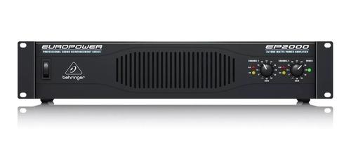 Power Amplificador Behringer Europower Ep2000 + Garantía