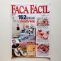 Revista Faça Fácil Chinelos Decorados Abajur Quadros Bc335