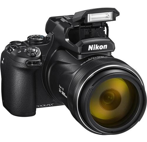 Câmera Digital Nikon Coolpix P1000 Zoom Optico 125x Wi fi 4k