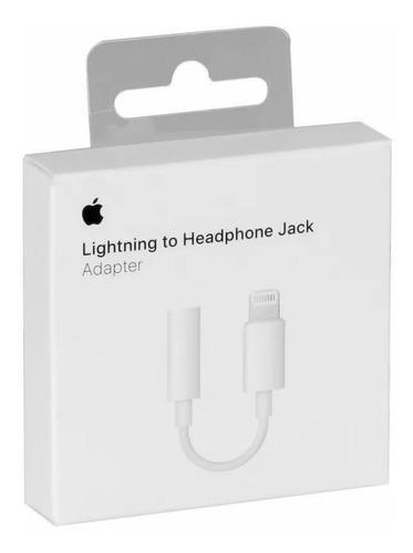 Adaptador Fone iPhone 7/8  Lightning 3.5 P2 Original C/nota