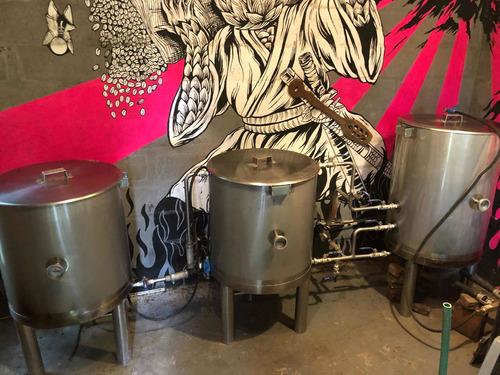Fábrica De Cerveza Artesanal 200 Lts Bruto