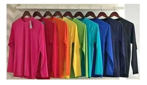 Blusa Termica Masculina Proteção Uv 50+
