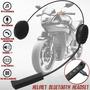 Fone De Ouvido Capacete Motoqueiro Sem Fio Bluetooth