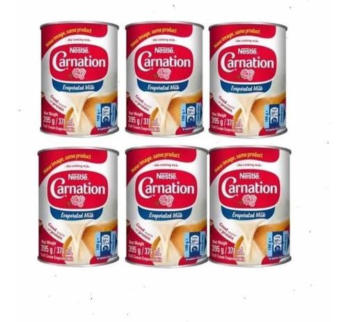 Pack De 6 Latas Leche Evaporada Nestle - mL a $35