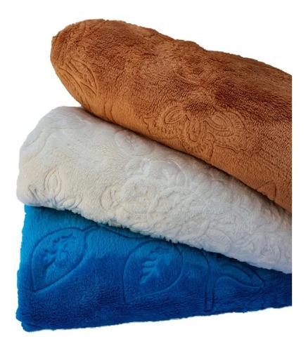 Cobertor Com Manga Jacquard