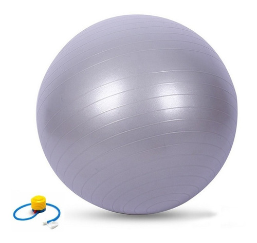 Bola Pilates Suiça Yoga 65cm Ginástica Abdominal C/ Bomba