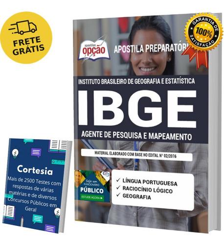 Apostila Agente Ibge Pesquisa E Mapeamento