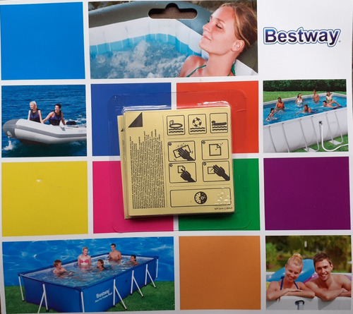 Parches P/piscinas Resistentes Al Agua No Necesita Desagotar