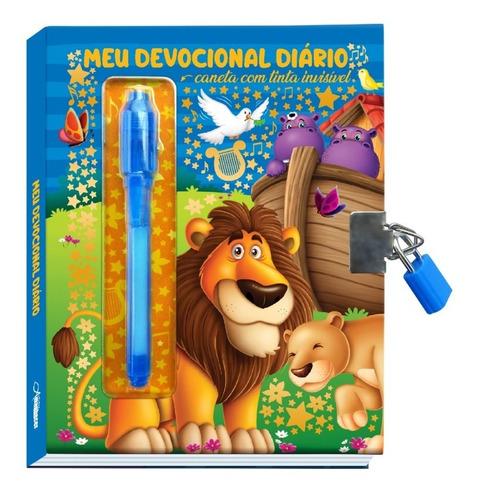 Diário Secreto Infantil Canetinha Mágica Cadeado C/chave