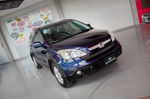 Honda Crv Exl 4x4 Nafta 2009 Azul
