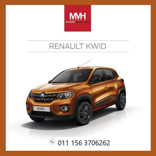 Renault Kwid Zen Adjudicado 100% 61/50c. Elegí Y Gana.