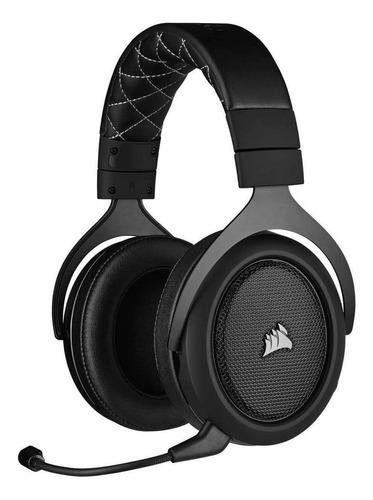 Headset Gamer Sem Fio Corsair Hs70 Pro Wireless Carbon